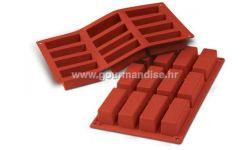 SF026 - TERRACOTTA NR. 12 CAKES, silikonski kalup, 79x79x29mm, visina 30mm