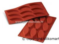 SF039 - TERRACOTTA SILICONFLEX NACKED ITEM NR.9 OVALS MM 100 X 44 H 15 MM