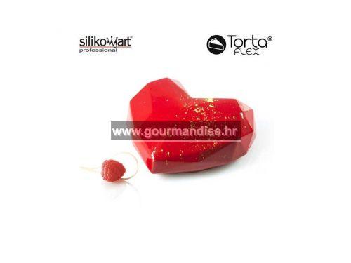 AMORE ORIGAMI, silikonski kalup, dimenzija 150x135mm, visina 55mm + rezač
