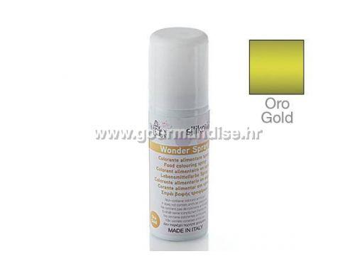 SPREJ - WONDER CP03, zlatni, 50ml