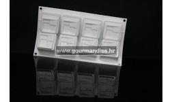 4KUADRO - silikonski kalup, 60x60mm, visina 50mm