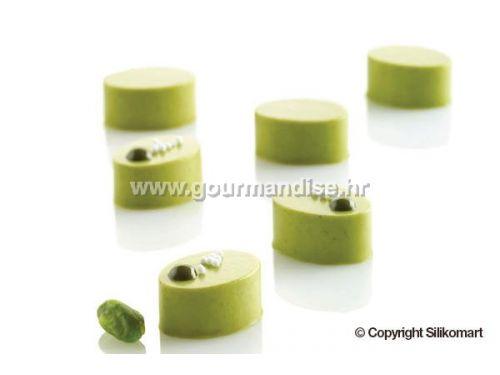 MIKRO OVAL 5 - silikonski kalup, 26,5x19,5mm, visina 12,5mm