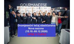 DVOMJESEČNI tečaj slastičarstva!!!!! 15.10.-05.12.2020.